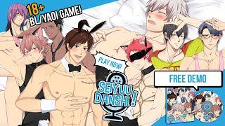 SEIYUU DANSHI, 18+ BL/Yaoi Game: OP Movie & All About Seiyuu Danshi!