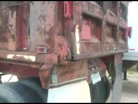 Dump Trailer 2 Way Tailgate Youtube