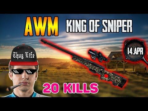AWM King of Sniper - Shroud solo FPP [14-Apr] - PUBG HIGHLIGHTS TOP 1 #90