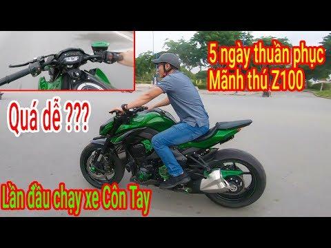5 ngày thuần phục Mãnh thú Kawasaki Z1000 - Chạy xe phân khối lớn quá dễ ???