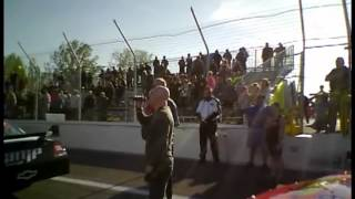 Redneck Incorporated at Lake County Speedway Opening Night - National Anthem