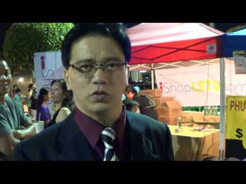 Bảo trợ tại Hội Chợ Trung Thu Phước Lộc Thọ do Bác sĩ Mắt James Trương với Đài LSTV 57.7.