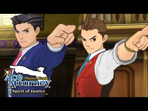 Phoenix Wright: Ace Attorney - Spirit of Justice - Launch Trailer