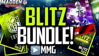 Blitz Bundle! BLITZ TICKETS GALORE! Madden Mobile 16