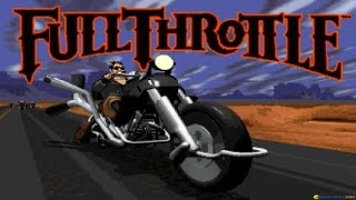Full Throttle gameplay (PC Game, 1995)