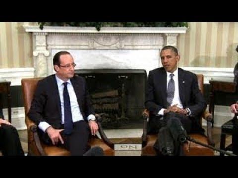 President Obamas Bilateral Meeting with President Francois Hollande of France