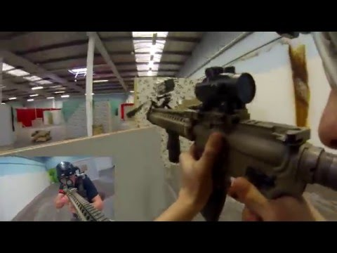 Airsoft: Aireweapon Airsofthalle Team Deathmatch