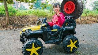 Kids Car Repair Wheel Truck! Kids Johny Johny Yes Papa Song Children