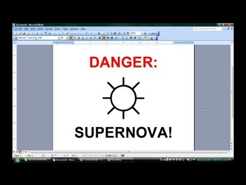 How To Make Signs With Microsoft Word Office Software