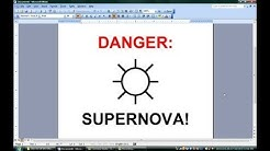 How to Make Signs With Microsoft Word : Microsoft Office Software