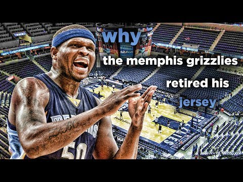 Why The Memphis Grizzlies Retired Zach Randolph's Jersey