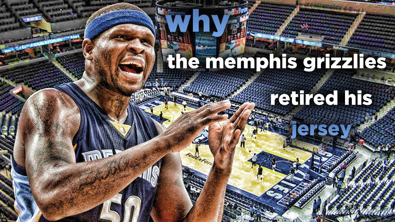 543c430644a Why The Memphis Grizzlies Retired Zach Randolph s Jersey - YouTube