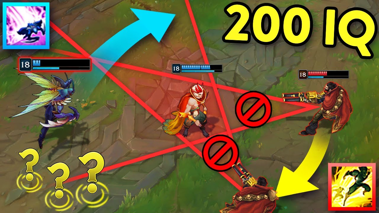 When LOL Players Get CREATIVE... 200 IQ OUTPLAYS MONTAGE (League of Legends) thumbnail