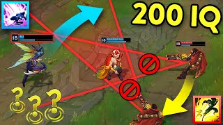 When LOL Players Gęt CREATIVE... 200 IQ OUTPLAYS MONTAGE (League of Legends)