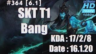 16.1.20 LCK SKT T1 Bang Bot Lane Ad Carry Kalista(vs Ezreal) KR Solo Q[1080p]#364