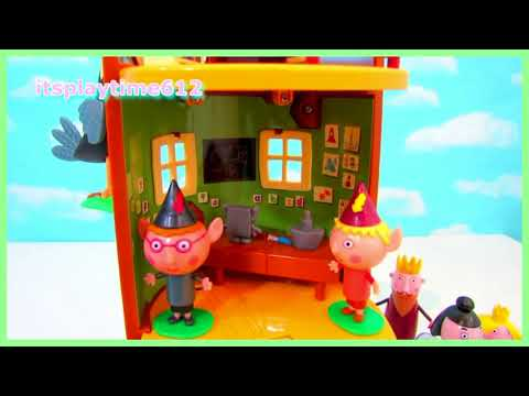 Ben and Holly's Little Kingdom #20 | Woodpecker at Ben Elf's Treehouse | itsplaytime612