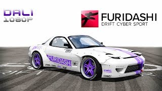 FURIDASHI: Drift Cyber Sport PC Gameplay 1080p 60fps