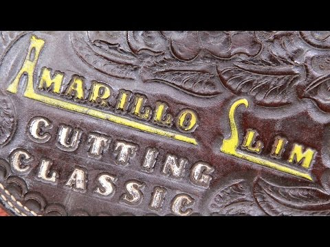 Web Appraisal: Amarillo Slim Classic Cutting Horse Saddle, ca. 1981