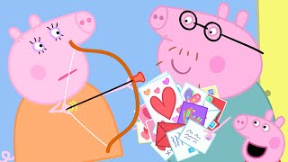 Peppa Pig Official Channel | Making Valentine's Day Cards for Daddy Pig