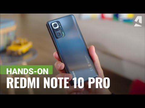 Xiaomi Redmi Note 10 Pro hands-on and key features