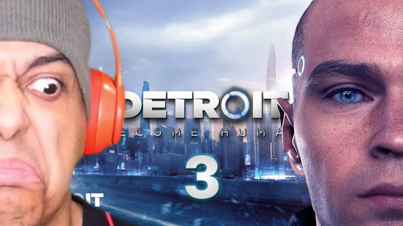 IT'S GETTING SERIOUS!! LOTS OF POPCORN NEEDED! DETROIT: BECOME HUMAN! [#03]