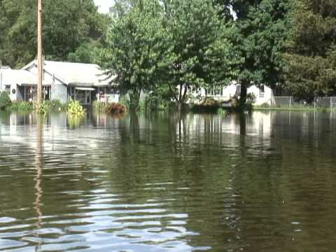 June 2008 flooding in Machesney Park, Illinois