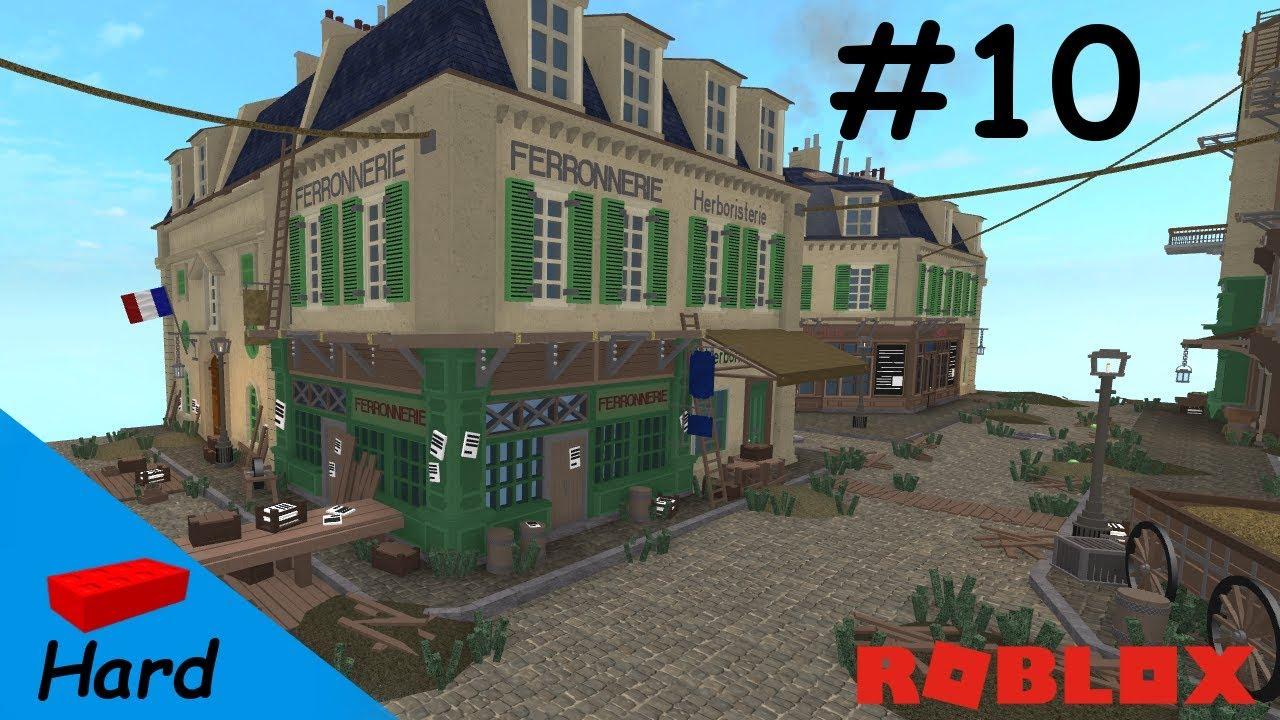 Roblox Studio Speed Build Paris Crossing 18th Century 10 Youtube