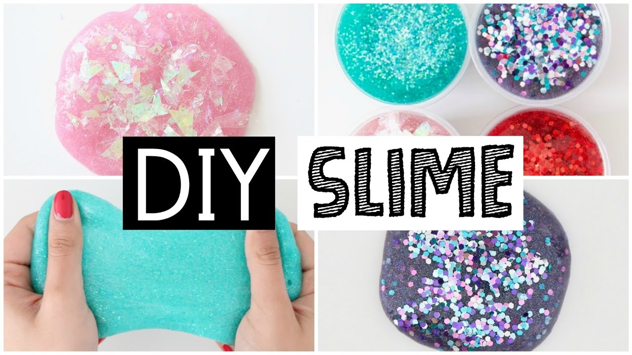 4 magical diy viral slime ideas youtube for Diy crafts youtube channels