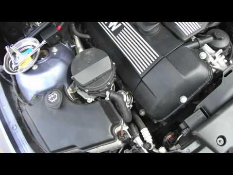 Emission System Repair BMW E46 secondary air check valve - YouTube