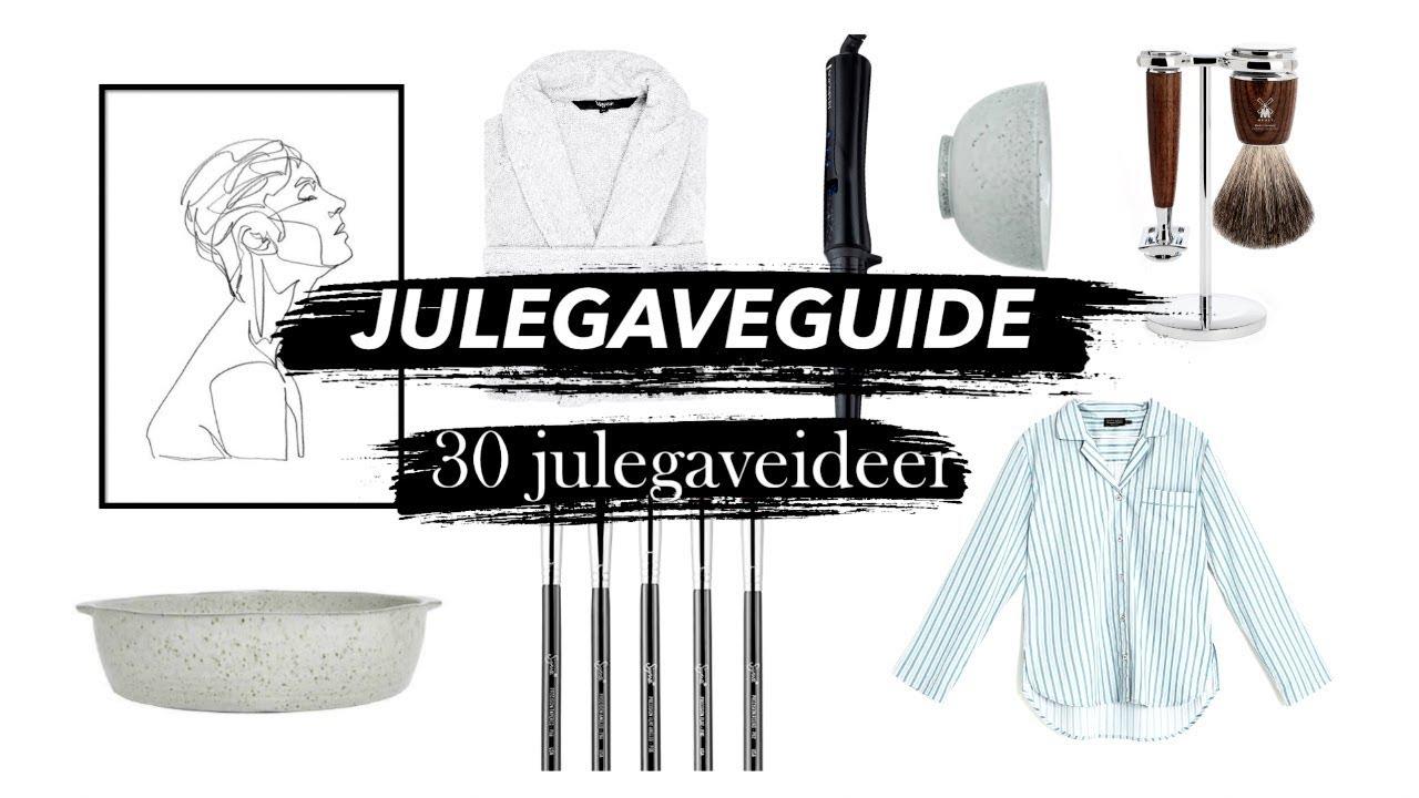 Download JULEGAVEGUIDE // 30 gaveideer