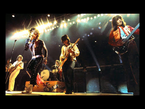 "The Rolling Stones 1972 American Tour  ""Torn and frayed"", Charlotte (NC)"