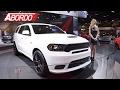 Dodge presenta al Durango SRT 2018 en el Auto Show de Chicago 2017