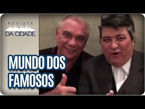 Datena, Marcelo Rezende e Luciano Huck - Revista da Cidade (17/05/2017)
