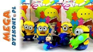 Gru, Dru i Minionki / Despicable Me 3 • Happy Meal • Zabawki z McDonalda