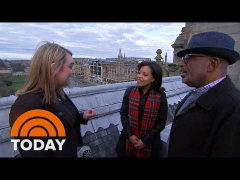 Al And Sheinelle Explores Edinburgh, Scotland's Capital | TODAY