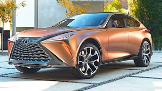 Lexus LF 1 LIMITLESS interior, exterior, and drive LUXURY CROSSOVER
