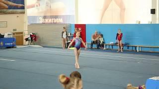 Вольное упражнение. Аня Крайнова. 3й взрослый разряд. 07.04.18.
