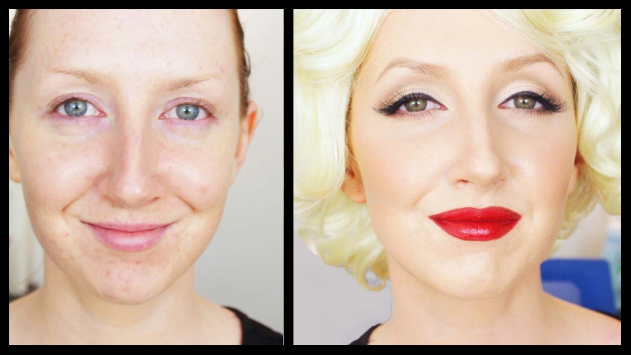 Beauty Icon #4 - Marilyn Monroe Makeup Tutorial