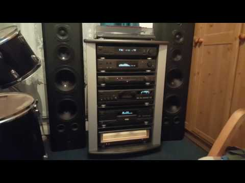 Technics Class AA hi-fi system and Diora-Polaris 300 speakers ×2