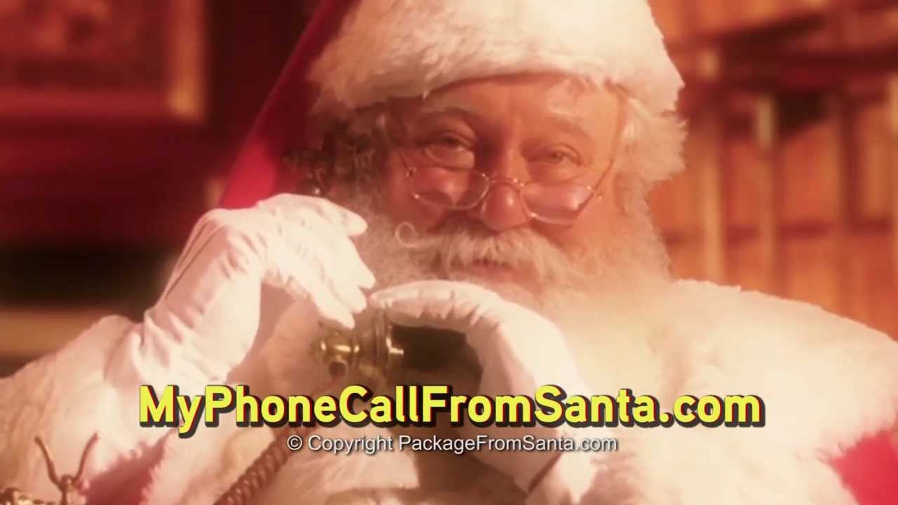 Free Personalized Call From Santa Claus - Letters From Santa