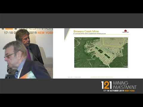Presentation: Golden Predator Mining Corporation- 121 Mining Investment New York Autumn 2019