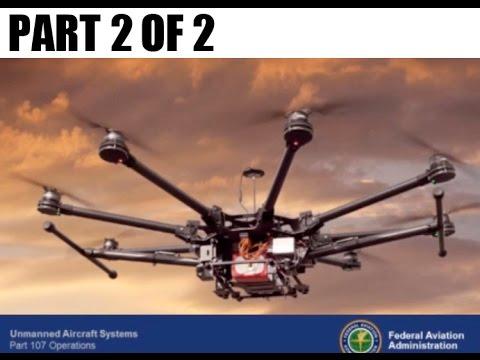 Part 107 Remote Pilot Commercial Use Q & A Webinar -  Part 2 / 2