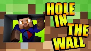 Minecraft *New* HOLE IN THE WALL Minigame with Vikkstar