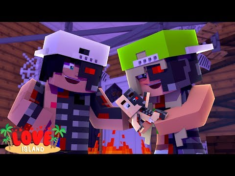 RAVEN HAS A ROBOT BABY WITH ANOTHER GIRL | Minecraft Love Island | Little Kelly