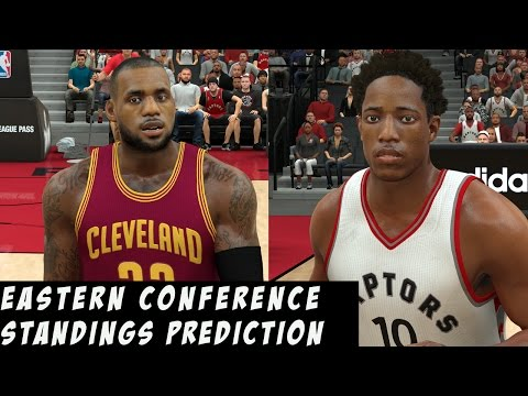 2017 NBA Eastern Conference Standings Prediction | Toronto Still The 2nd Best?