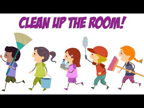 CLEAN UP TRANSITION SONG   Preschool, Kindergarten Clean Up Song