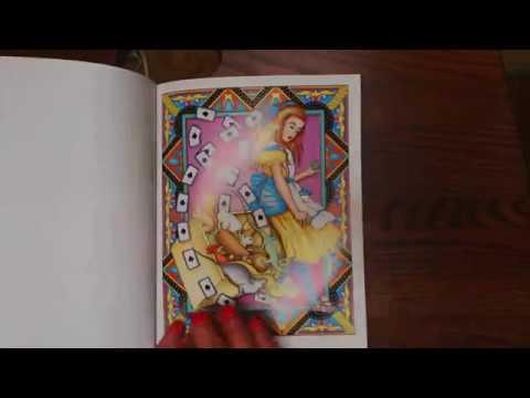 """""""Alice & Wonderland"""" designs"""