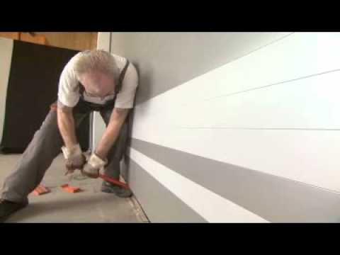 Test officiel n 2 sur une porte de garage anti effraction - Serrure de securite pour porte de garage ...