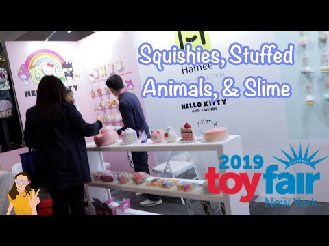 Toy Fair 2019 NEW Squishies, Stuffed Animals, & Slime! | Kelli Maple