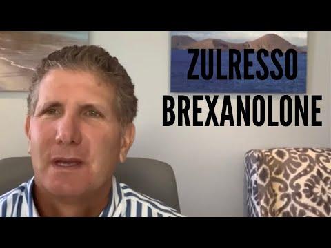 Zulresso(Brexanolone)New Treatment For Depression